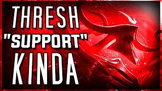 """Thresh """"Carry Support!"""" League Of Legends Thresh Support Season 8, Gameplay Funny moments"""