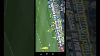 Gol di Bruno Alves Parma Chievo 1-1