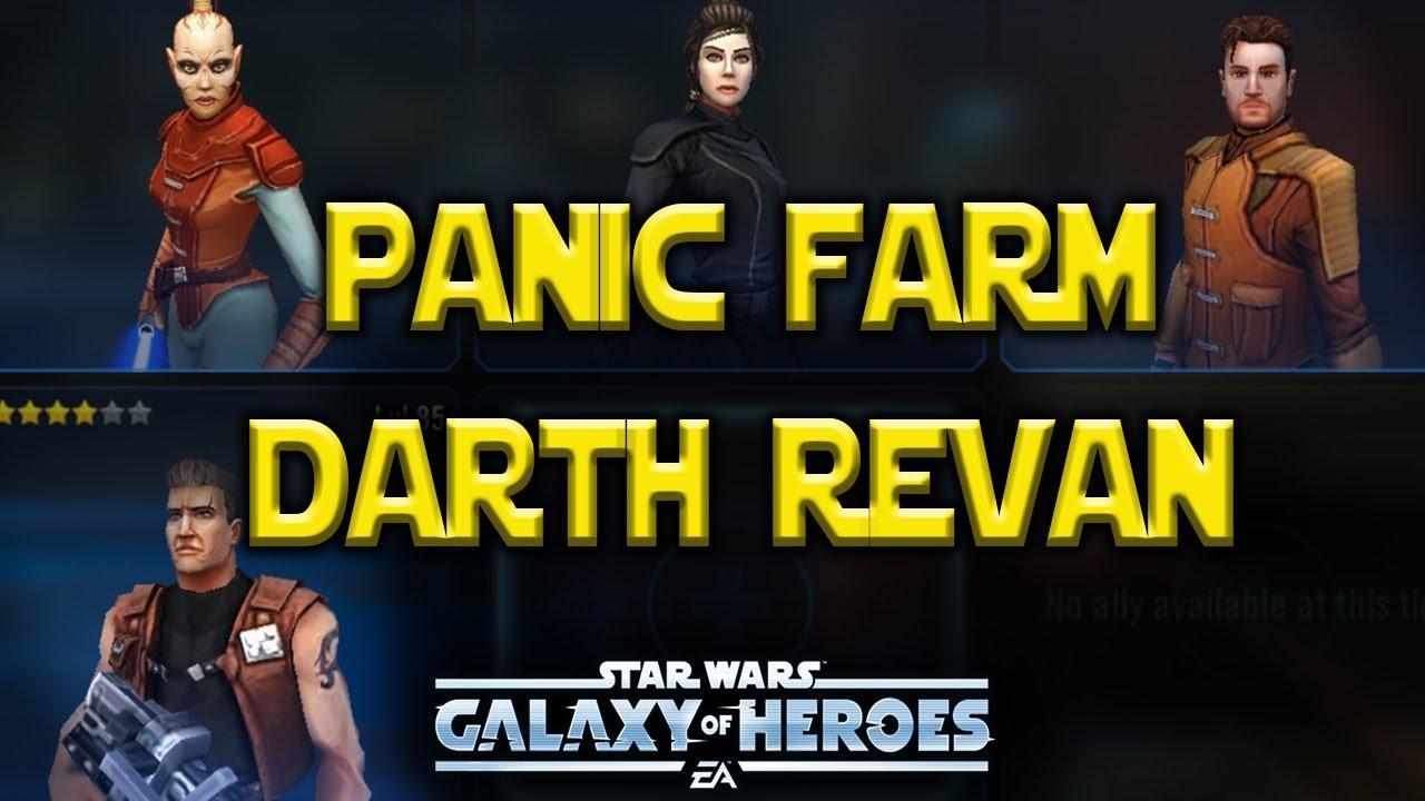 Panic Farm Darth Revan - Star Wars: Galaxy of Heroes - SWGoH