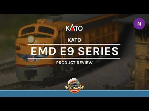 N Scale Kato EMD E9 A & B Units