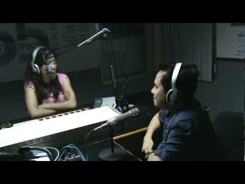 Jasmin Romero Interviewing The VoiceMaster over DZXL RMN Manila 558 (Radio Mindanao Networks)