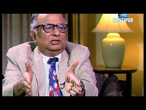जलस्रोतविद् अजय दीक्षित Ajay Dixit in TOUGH talk with Dil Bhusan Pathak