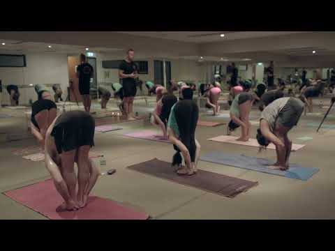60 Min Hot Yoga Class + Guided Meditation By Dr Espen Hjalmby