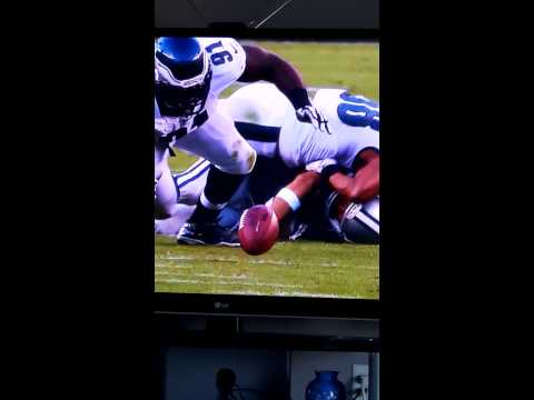 Tony Romo Sacked and injured