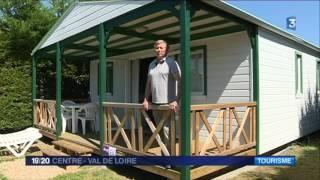 Le boom des mobil-homes dans les camping d'Indre-et-Loire