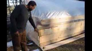 Build a Greenhouse w/Free Pallets + Cattle Panels 2