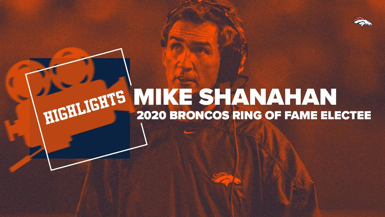 A look back at Mike Shanahan's Ring of Fame Broncos career