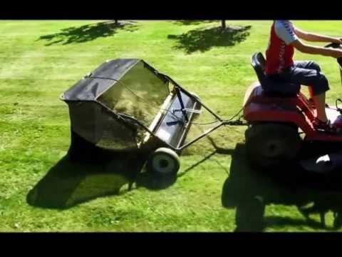 Uppsamlare - Lawn sweeper