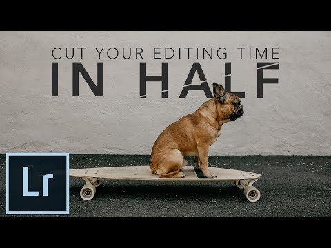How to Cut Your Photo Editing Time in Half