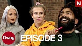 DWAY-EPISODE 3 - France Fortnite et maquillage avec Cornelia, problèmes de sommeil, Fortball Quiz et Nellie