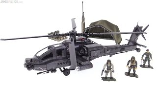 Mega Bloks CoD Anti-Armor (AH-64) Helicopter review!