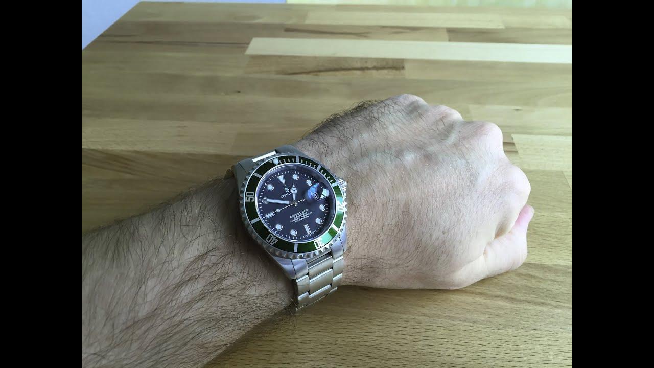 NEW Release! Steinhart Ocean Titanium 500 GMT Premium Automatic .