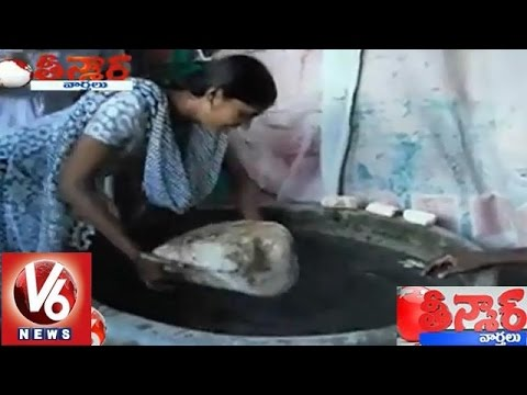 TN People Worships 'Rama Setu' Floating Stone - Teenmaar News