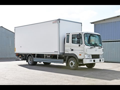 Hyundai HD 120 изотермический фургон с гидробортом Zepro