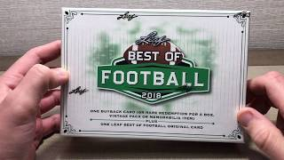 2018 Leaf Best of Football - Boom or Bust?!
