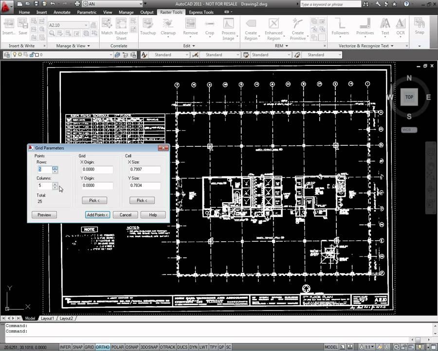 autocad raster design image cleanup youtube. Black Bedroom Furniture Sets. Home Design Ideas