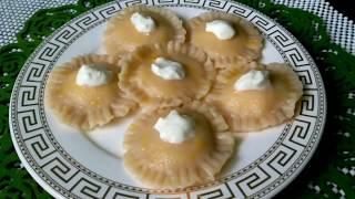 Вареники с творогом  Рецепт вкусных и красивых вареничков на заварном тесте