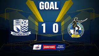 GOAL: Southend United 1-0 Bristol Rovers