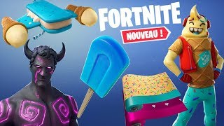 FORTNITE: All the next Skins, Dances, Gliders. (MAJ 7.40)