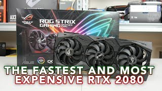 ASUS ROG RTX 2080 Strix OC Video - THE FASTEST! but £999