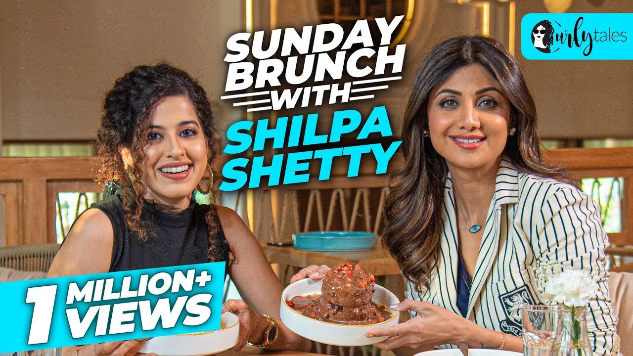 Sunday Brunch With Shilpa Shetty Kundra X Kamiya Jani | Curly Tales