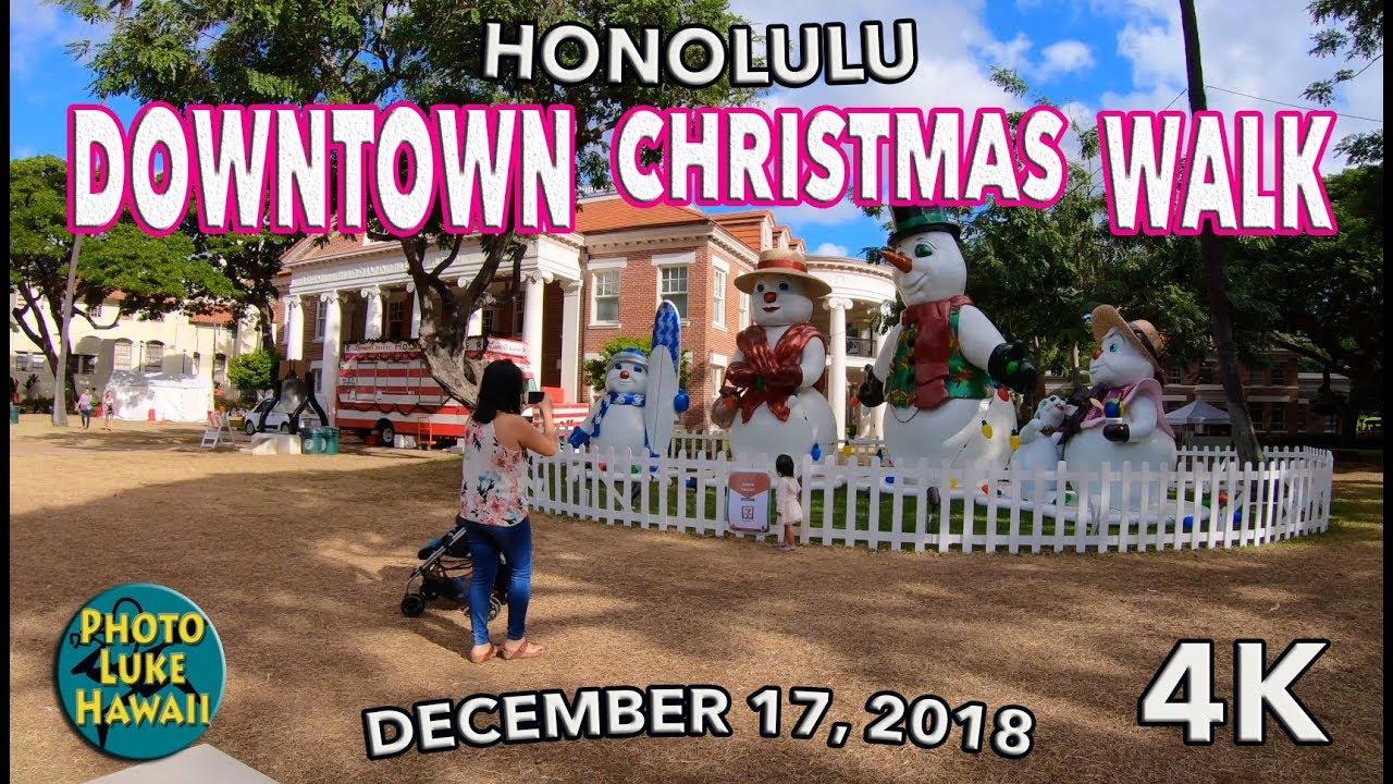 Downtown Christmas Walk 12/17/2018 - YouTube