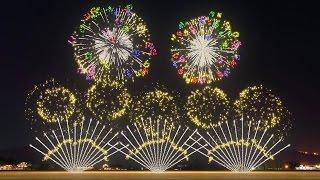 FWsim Mount Fuji Synchronized Fireworks Show thumbnail