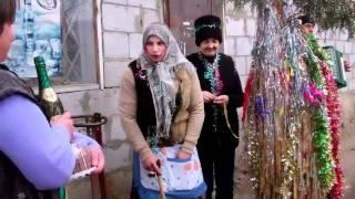 Uratura de anul nou 2011 in satul Cazangic