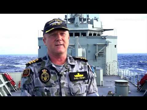 HMAS Darwin Narcotics Interdiction