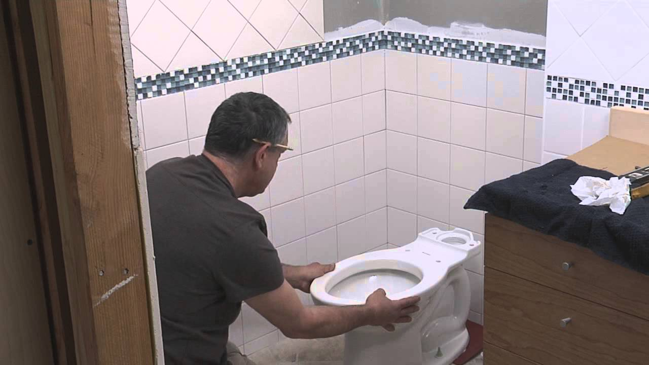 How To Install A New Toilet - Youtube-2477