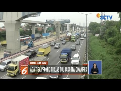 Antisipasi Kemacetan, Jasa Marga Lakukan Rekayasa di Tol Jakarta-Cikampek - Liputan 6 Siang Mp3