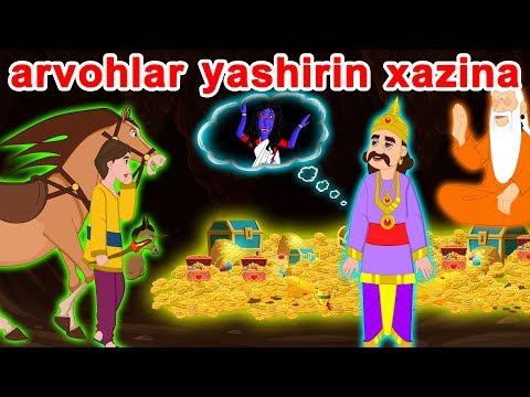 Arvohlar Yashirin Xazina | O'zbek Multfilmlari | O'zbek Ertaklari | Uzbek Axloqiy Hikoyalari