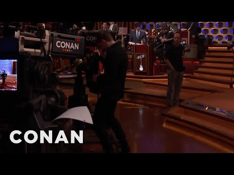 Evan Peters s Off His TVHumping Skills   CONAN on TBS
