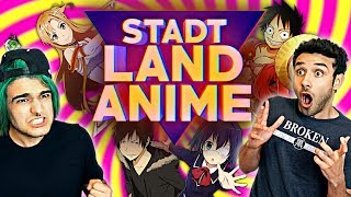 STADT LAND ANIME CHALLENGE (+Strafe) | AnimeBros