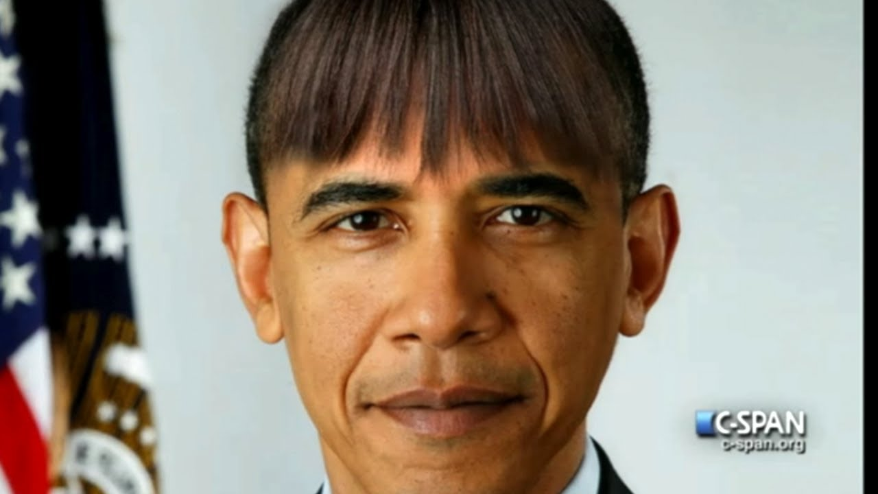President Obama Gets First Lady Hair Cut Youtube