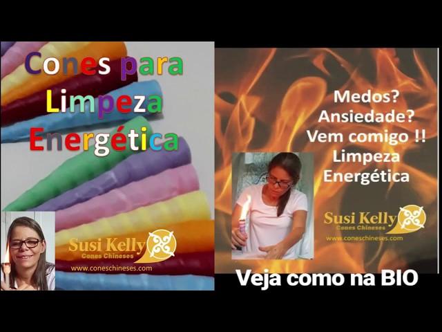 ANDREIA - LIMPEZA ENERGÉTICA COM OS CONES ONLINE