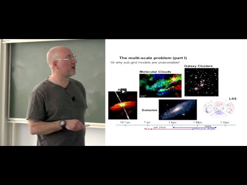 Modelling the physics of galaxy formation in a expanding Universe
