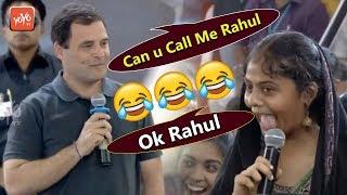 Rahul Gandhi Blushed And Asked ,Call Me Rahul Not Rahul Sir | Stella Mari College in Chennai |YOYOTV