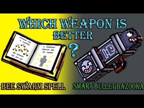 Pixel Gun 3D - Bee Swarm Spell VS Smart Bullet Bazooka