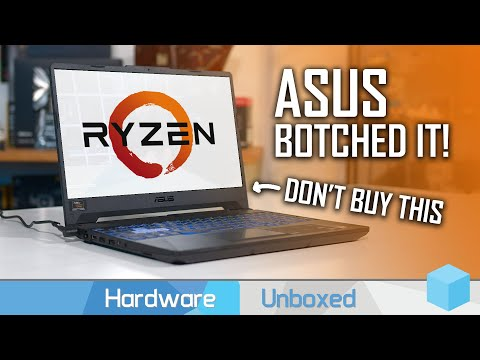 Don't Buy The Asus TUF Gaming A15