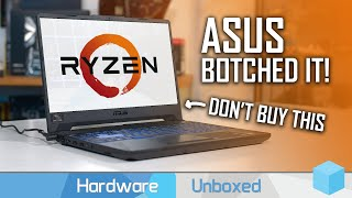 Don't Buy The Asus TUF Gaming A15, Design Flaw Analysis