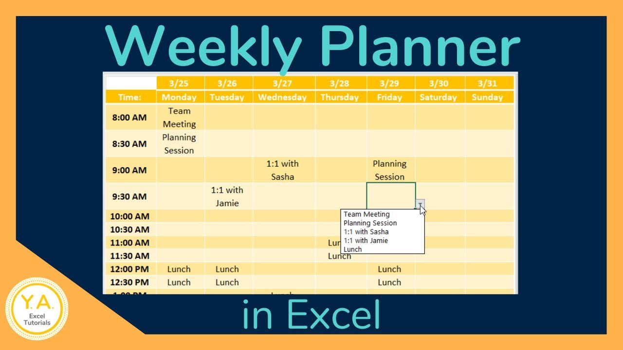 Class Schedule Maker Excel Template from i.ytimg.com