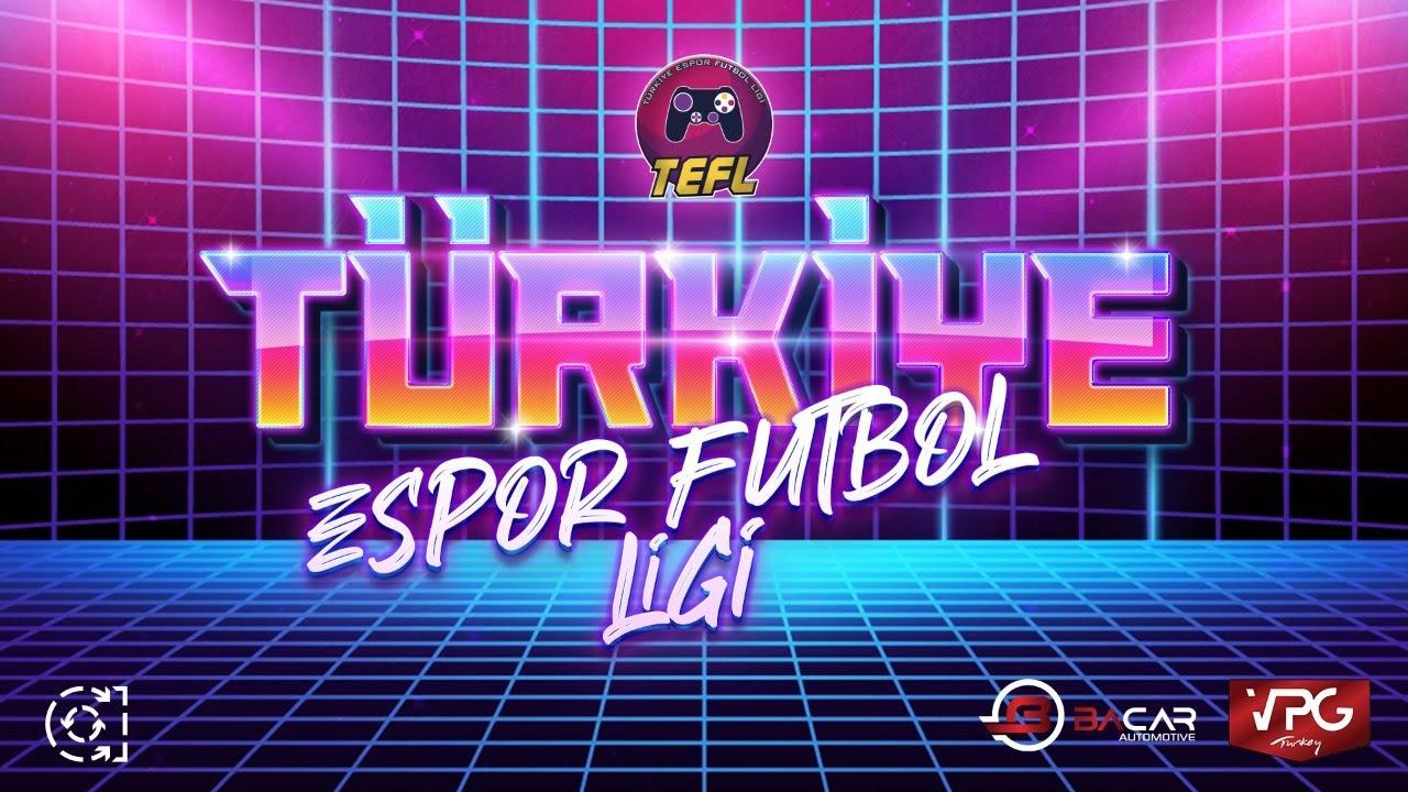 FIFA 21 | Türkiye Espor Futbol Ligi | CANLI