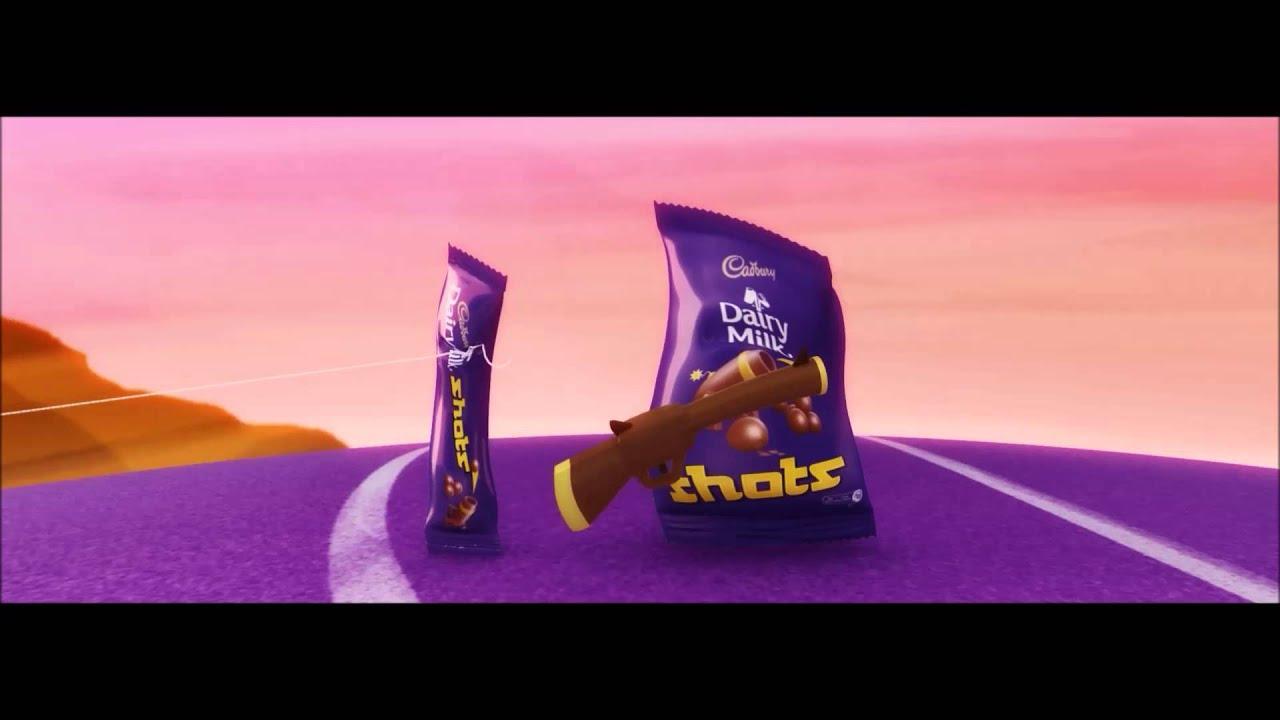 Cadbury dairy milk shots shooting youtube thecheapjerseys Images