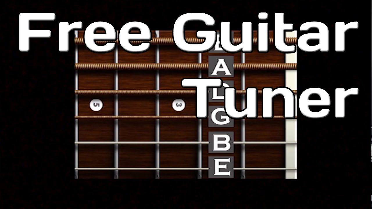 free online guitar tuner easy to use youtube. Black Bedroom Furniture Sets. Home Design Ideas