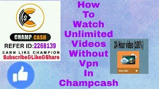 How to watch unlimited videos in income junction without VPN use