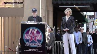 CATE BLANCHETT HONORED WITH HOLLYWOOD WALK OF FAME STAR