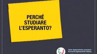 Perché studiare l'Esperanto?