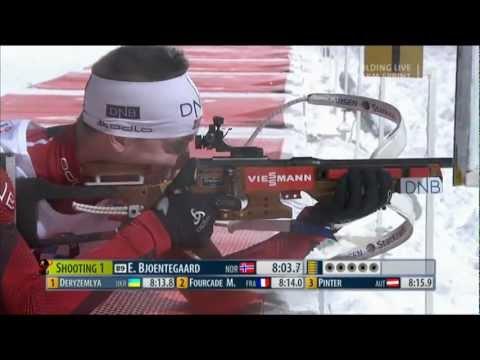 Biathlon Sprint der Männer in Ruhpolding 2013