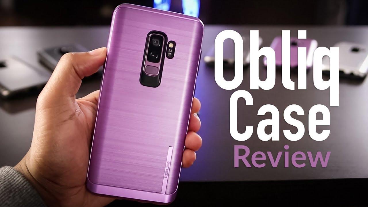 sale retailer 732c9 e5954 Samsung Galaxy S9/S9+ Obliq Cases Review